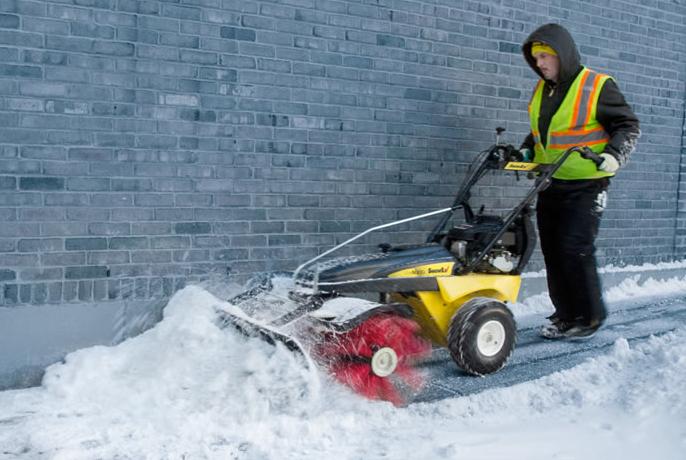 SnowEx Power Brooms