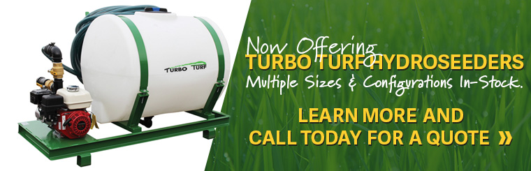 Shop Turbo Turf Hydroseeders at Bison Turf in Buffalo, NY! We are your commercial outdoor equipment provider.