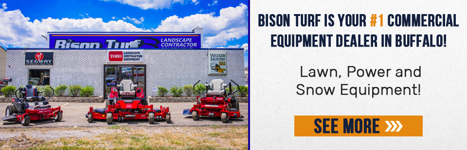 Bison Turf is your Commercial Equipment Dealer in Buffalo, NY! Shop Today.