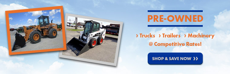 Bison Turf has pre-owned commercial & construction equipment. Shop Trucks, Trailers, Machinery & More!