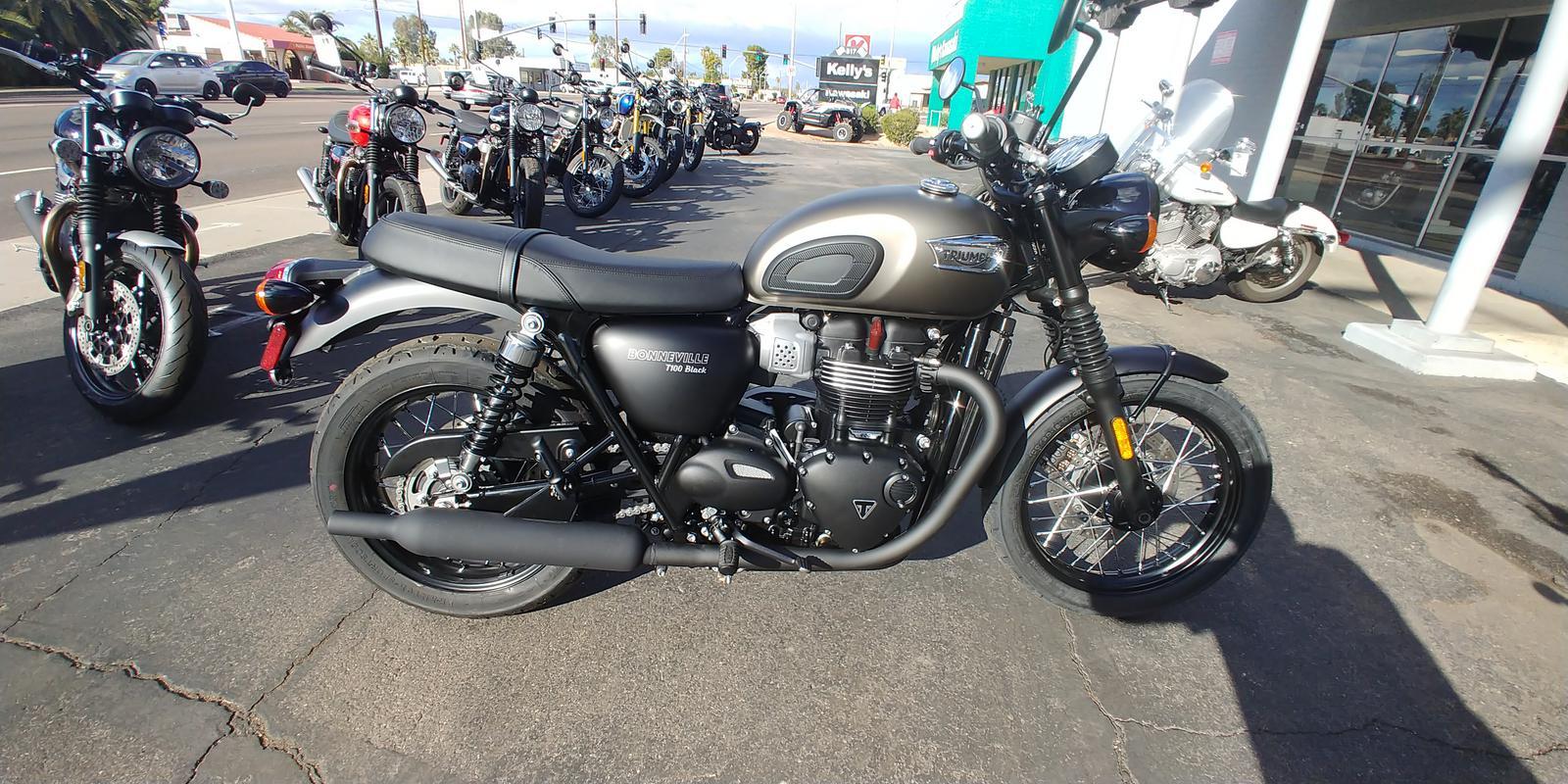 2020 Triumph Bonneville T100 Black 900 For Sale In Mesa Az Phoenix Triumph Mesa Az 480 668 7969
