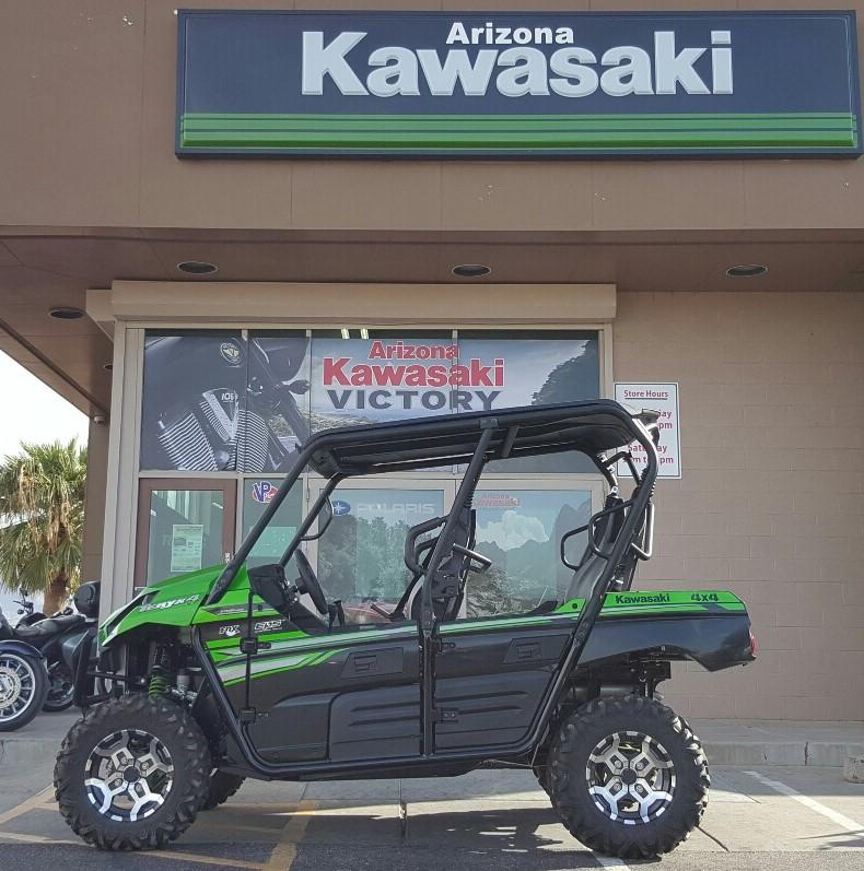 2017 kawasaki teryx 4 le for sale in apache junction, az. arizona