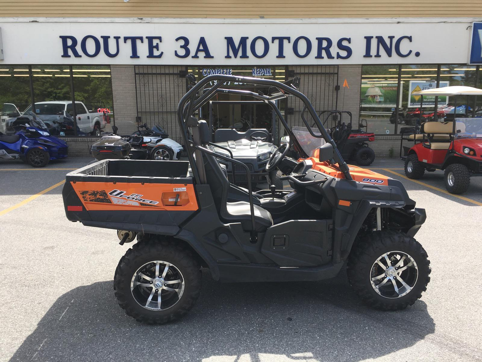 2016 CFMOTO UFORCE 800 EPS for sale in North Chelmsford, MA | ROUTE 3A MOTORS, INC. (978) 251-4440