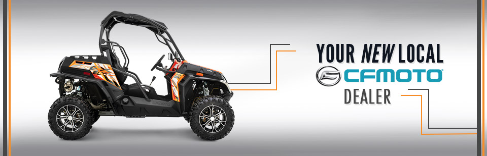D & K Service Cycle & ATV is your new CFMOTO dealer!