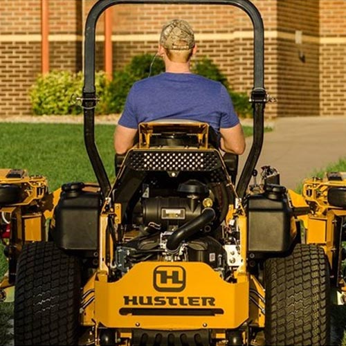 Hustler Super 104 Mowers