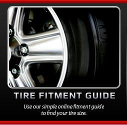 Not sure what size tires you need? Use our helpful tire fitment guide.