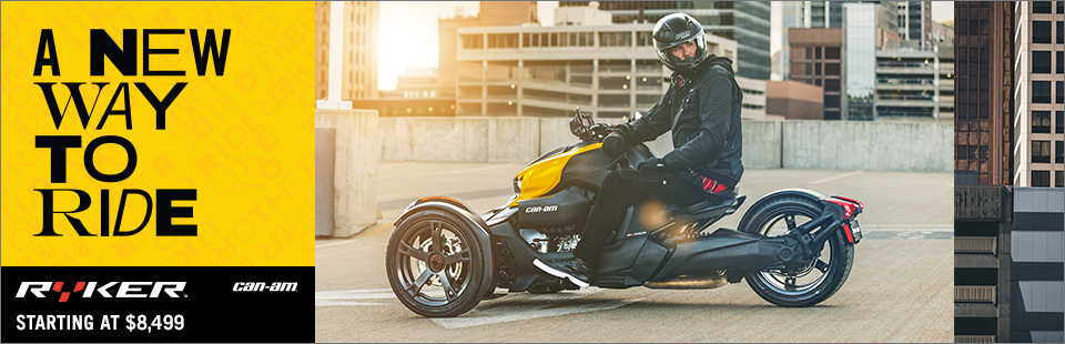 A New Way To Ride - The Can-Am Ryker