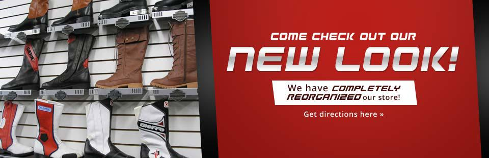 Come check out our new look! We have completely reorganized our store! Click here for directions.