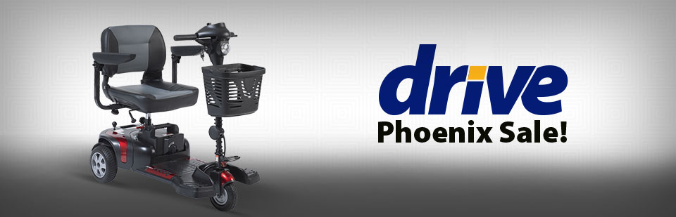 Drive Phoenix Scooters: On sale now! Click here to view our selection.