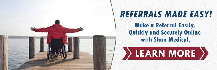Shan Medical's Online Referral Forms are easy and secure!