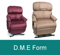 Click for D.M.E Form