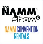 NAMM Convention Rentals