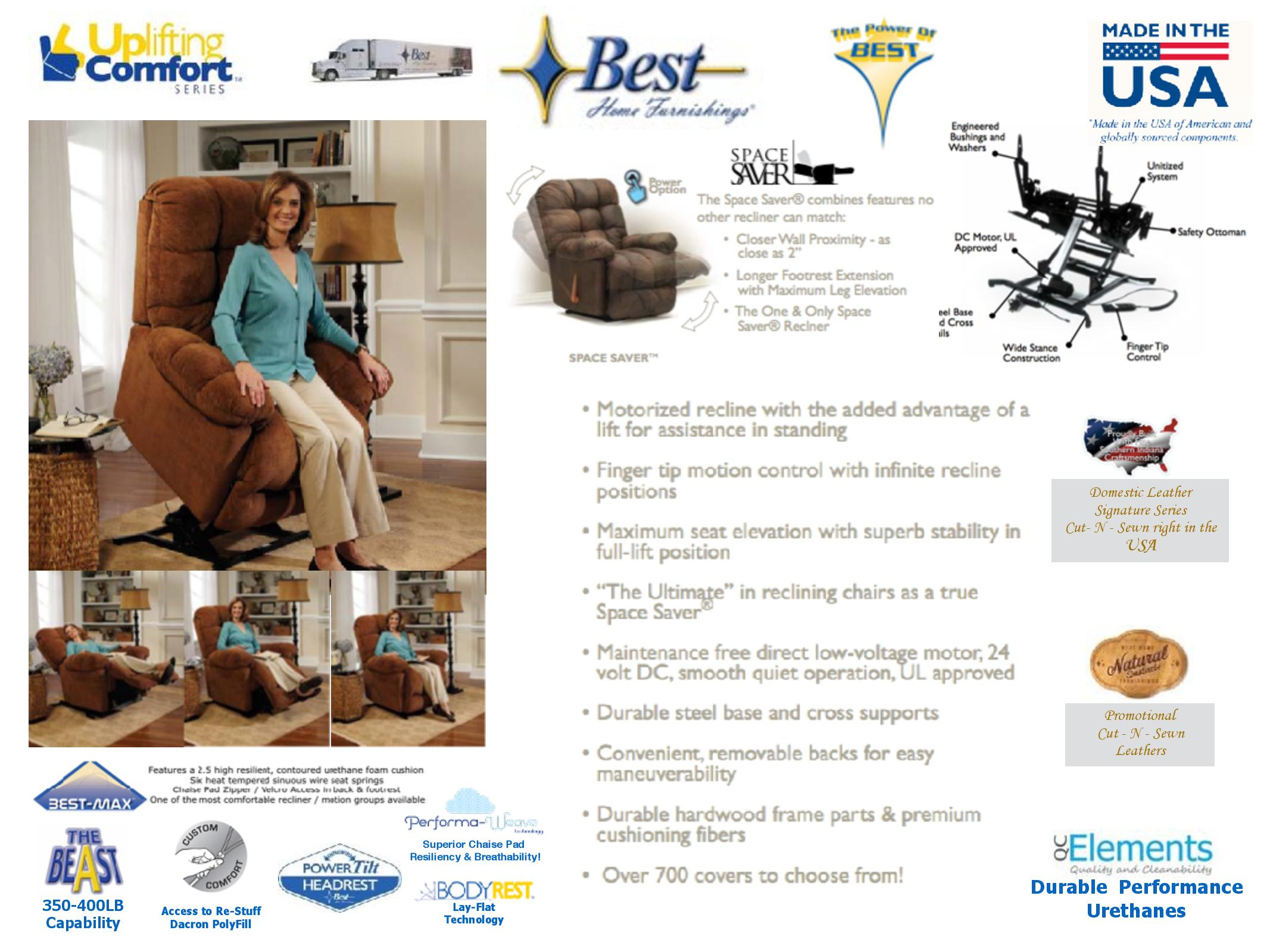 Best Home Furnishings Lift Chairs MARS MEDICAL New Lenox IL 800