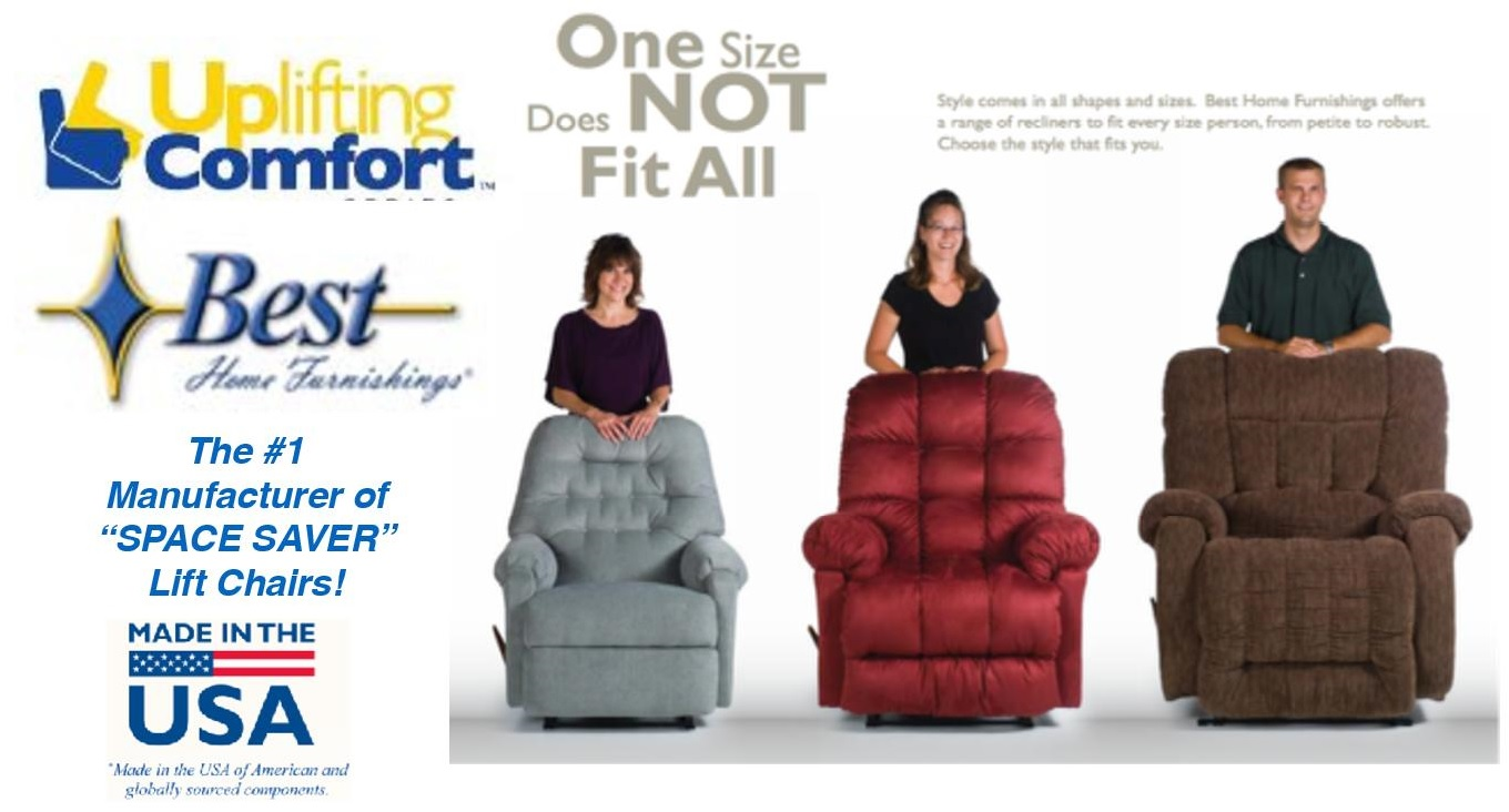 Best home furnishings lift chairs mars medical new lenox for Best home furnishings