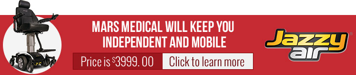 Mars Medical will keep you Independent and Mobile. Price is $3999.00. Click to learn more.