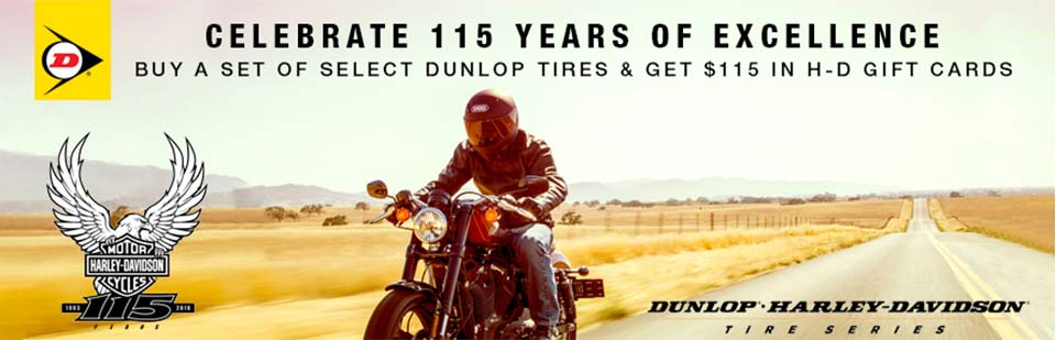Dunlop 115 Years Tire Promo