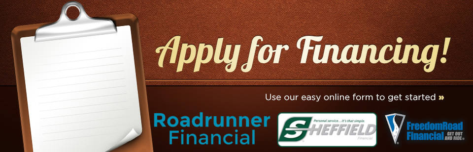 Contact us now for great financing options!