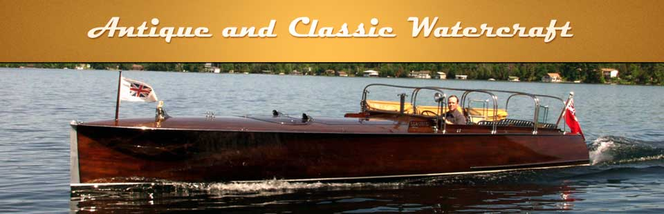 ort Sandfield Marina carries antique and classic watercraft