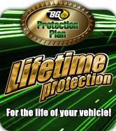 BG Protection Plan. Lifetime Protection. For the life of your vehicle?