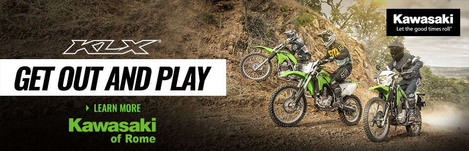 2020 KLX Family of Bikes are in Stock!!