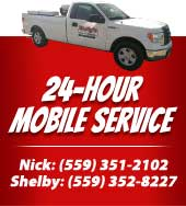 24 hour Service truck