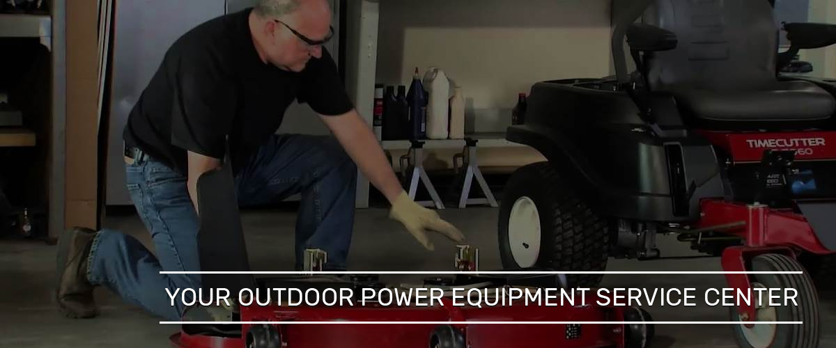 Outdoor Power Equipment Service in Wichita, Kansas | Rental