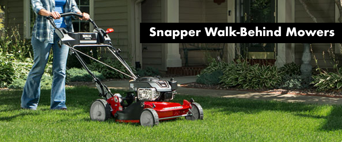 Shop All Snapper Walk-Behind Mowers