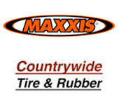 We offer Maxxis tires and Countrywide Tire & Rubber
