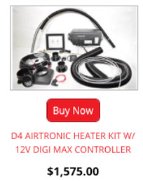 D4 Airtronic Heater Kit W/ 12V Digi Max Controller