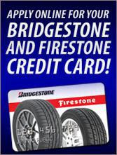 Apply Online for Your Bridgestone / Firestone Credit Card!
