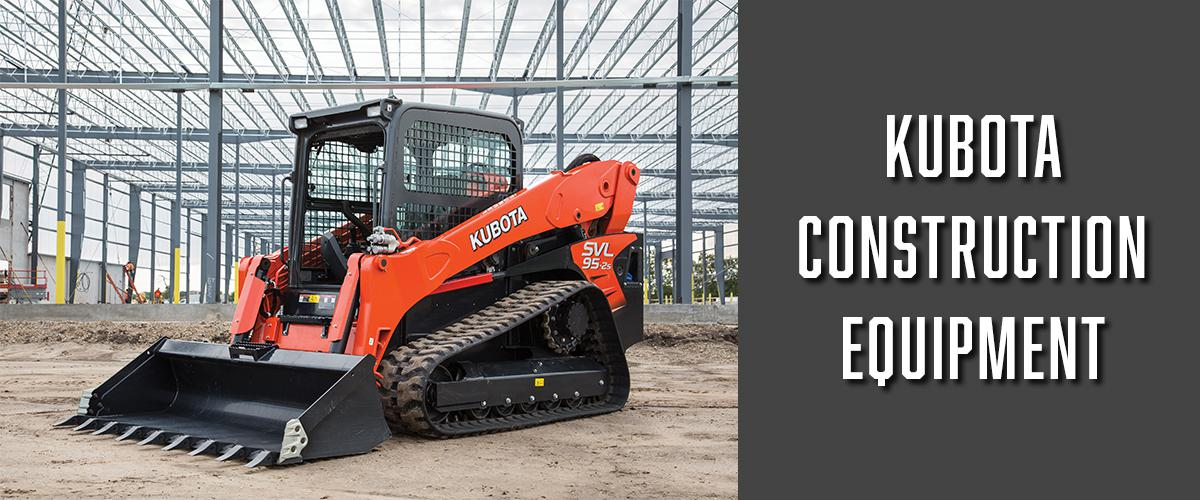 Kubota Construction Equipment