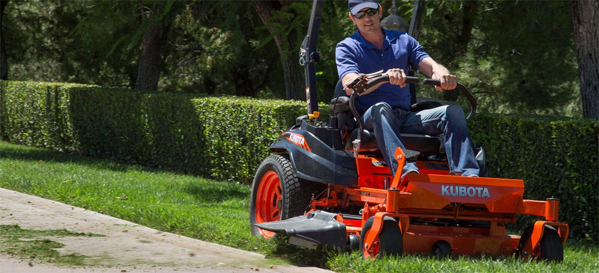 Kubota Zero Turn Lawn Mowers