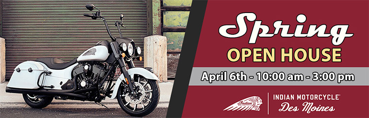 Indian Motorcycle Des Moines Spring Open House