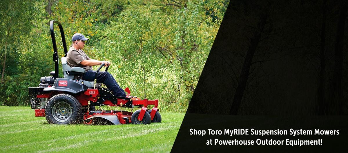 Toro MyRIDE Suspension Zero Turn Mowers