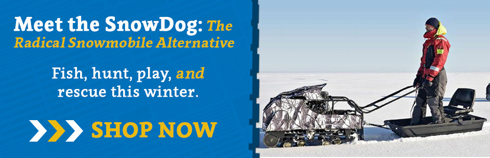 SnowDogs - The Brand New Snowmobile Alternative