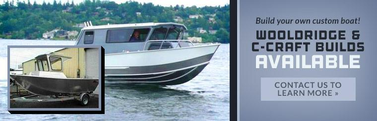 Wooldridge & C-Craft Custom Builds Available: Contact us to learn more.
