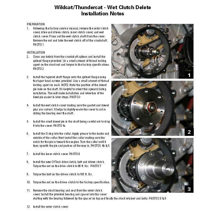 Wet Clutch Delete Instructions D & P PERFORMANCE Cedar City, UT 1