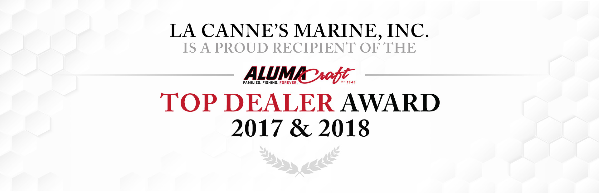 Alumnacraft Dealer of the Year