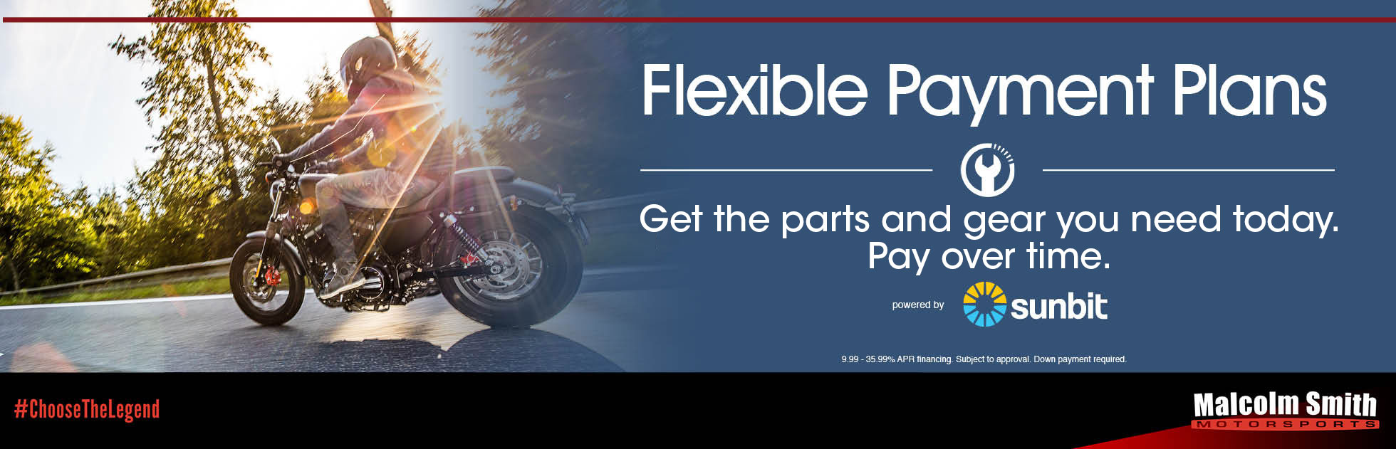Service, Parts and Apparel Financing
