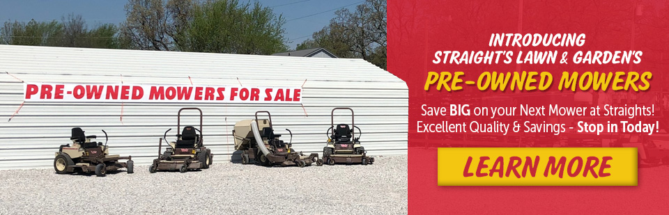 Shop Pre-Owned Zero-Turn Lawn Mowers & Tractors at Straight's - the largest lawn mower store in NWA!
