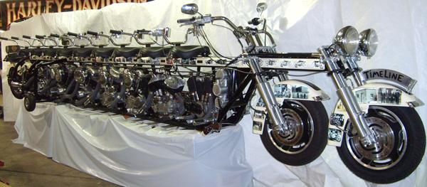 doc's creations: timeline motorcycle doc's harley-davidson of