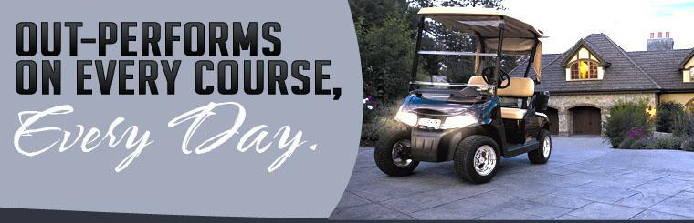 Out-performs on every course, every day.