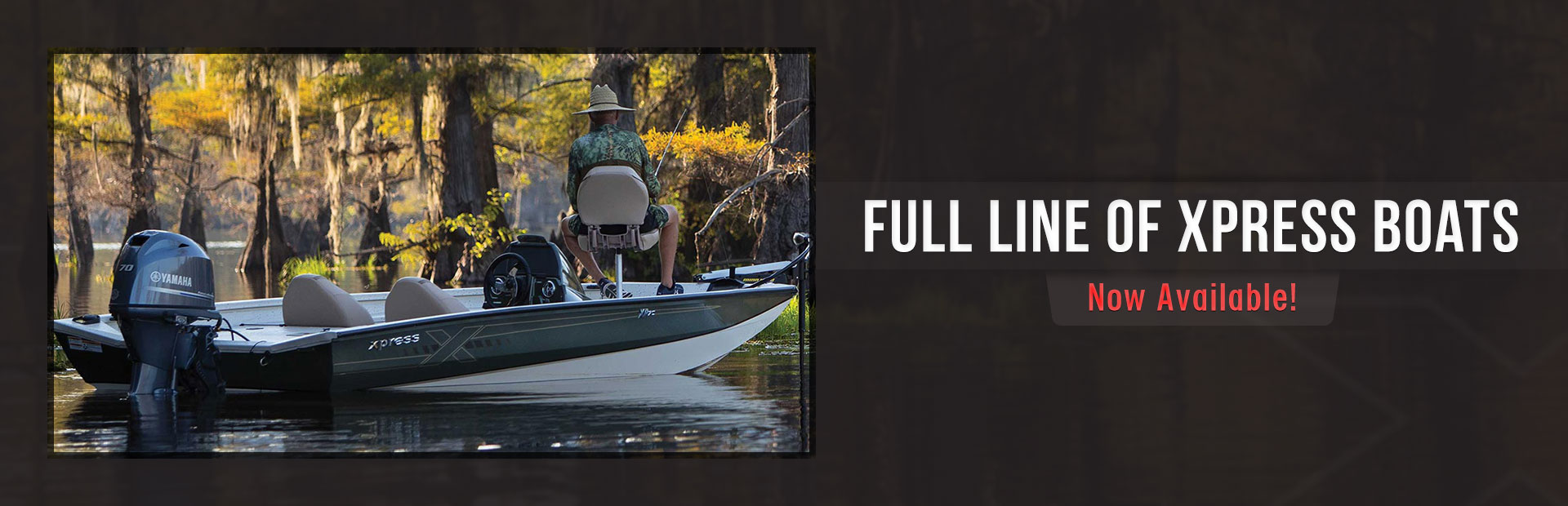 The full line of Xpress Boats is now available at Woods Surfside Marina!