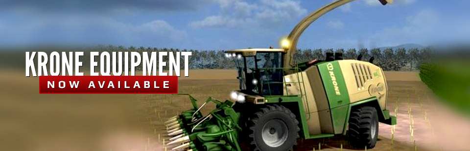 Krone Equipment Now Available