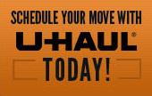Schedule your move with U-Haul today