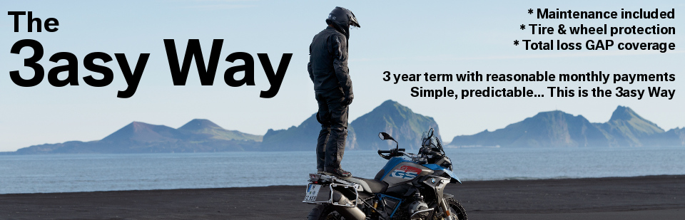 Everything you want, nothing you don't, 'The 3asy Way' is motorcycle ownership for the modern rider.