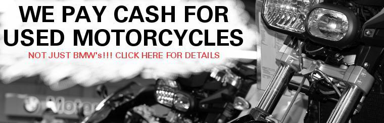 We pay cash for all kinds of motorcycles. Sell your old bike today! Click here to learn more.