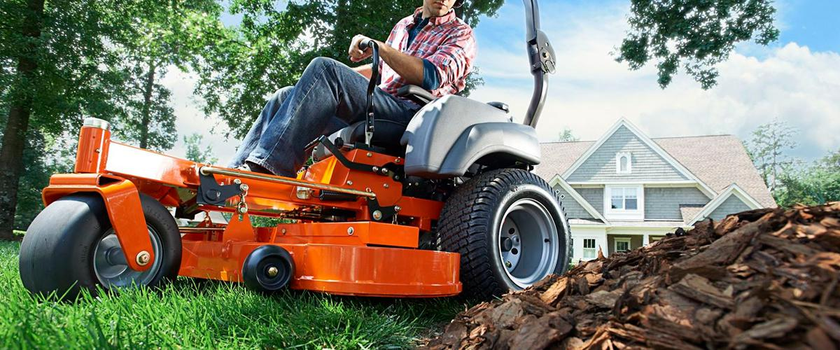 Husqvarna tractors and lawn mowers