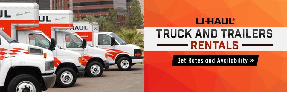 Jack's Small Engine Repair & Equipment Sales offers U-Haul truck and trailers rentals! Click here to get rates and availability.