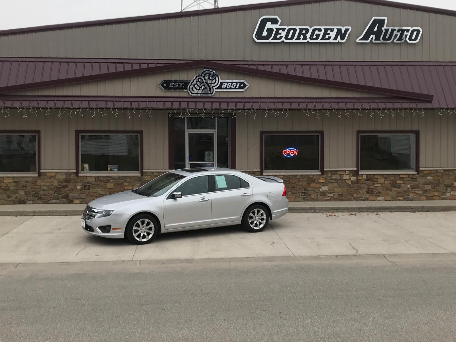 2012 Ford Fusion Sel For Sale In Manchester Ia Georgen